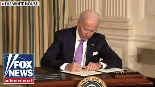 Biden pushes progressive plan with exec orders after vowing not to during campaign