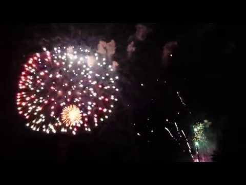 Canada Day Fireworks 2014, Harris Park, London ON