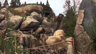 Seven Dwarfs Mine Train Roller Coaster Off Ride POV, Magic Kingdom Disney World Florida