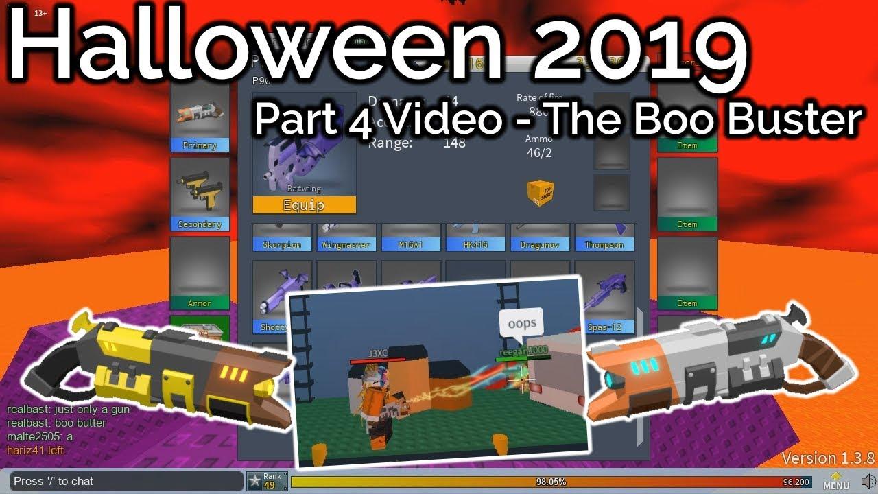 Code For R2da Roblox 2020 Halloween R2DA Halloween 2019   The Boo Buster|Update 1.3.8 Part 4   YouTube