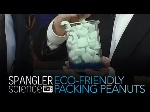 Eco-Friendly Packing Peanuts - Cool Science Experiment