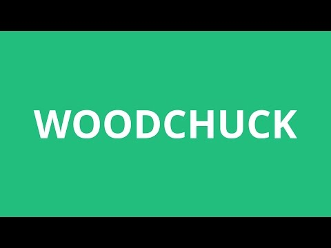 How To Pronounce Woodchuck - Pronunciation Academy