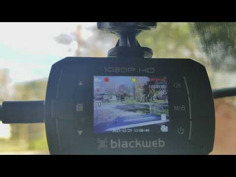 BlackWeb Dashcam By Walmart Review