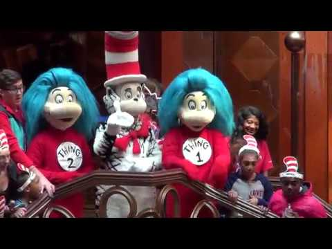 Dr. Seuss birthday celebration at JAXPORT