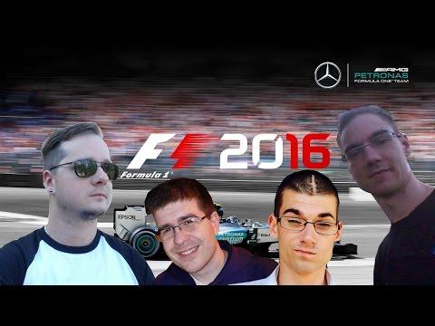 F1 2016 YOUTUBER COOP // R11: MAGYARORSZÁG-HUNGARORING