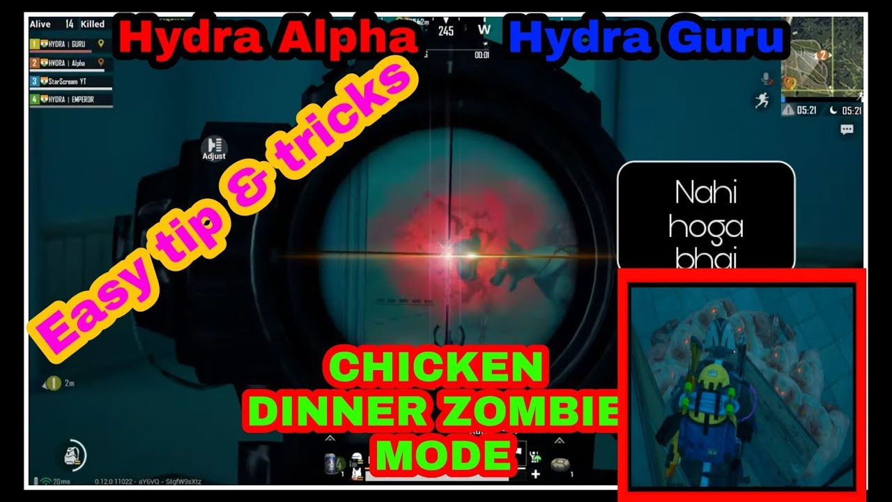 Gaming guru l Alpha clasher, Easy trick to win zombie mode l latest vedio  zombie mode 🔥
