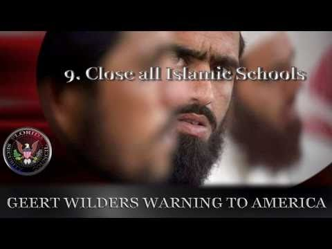Geert Wilders Warning to America Part 2 of 2