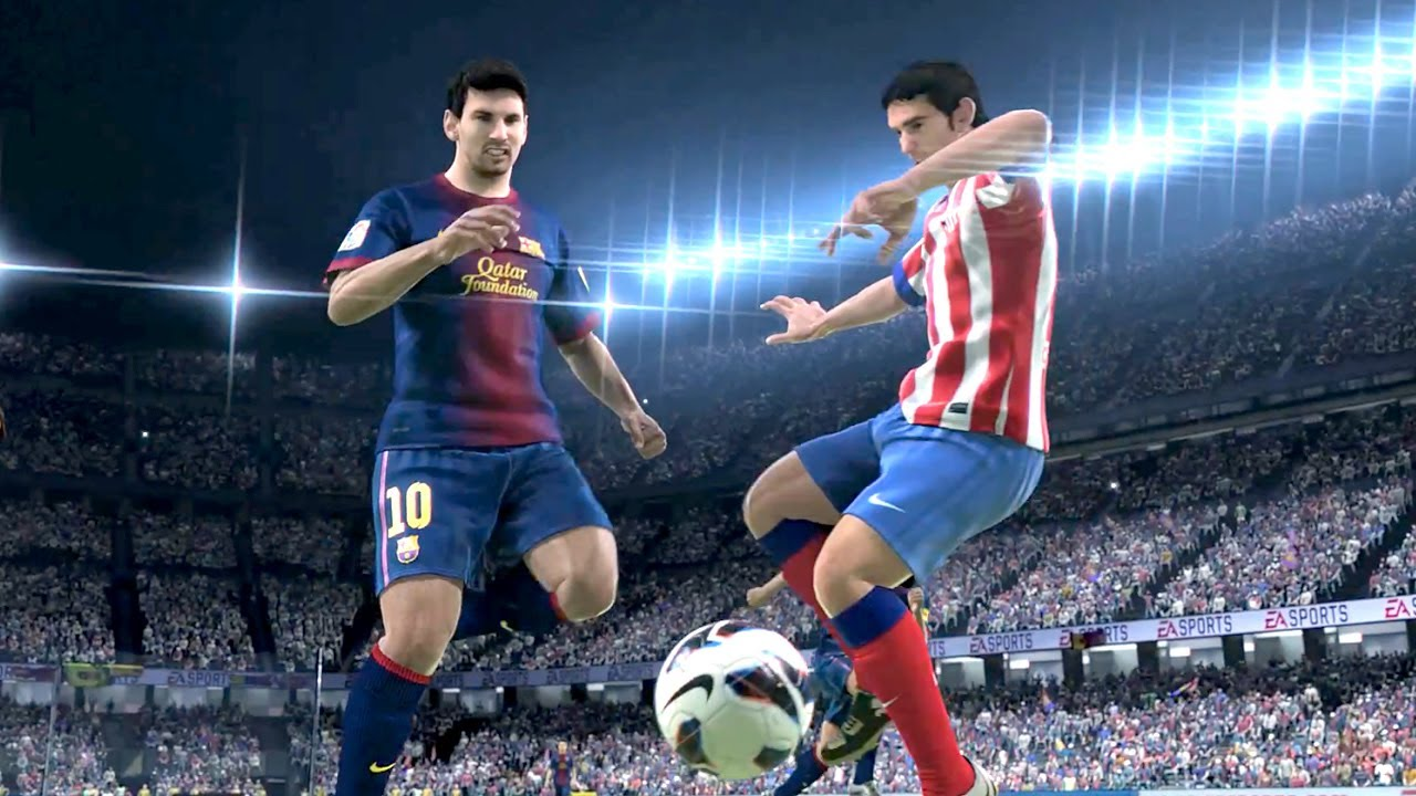 Trailer FIFA 14 - Xbox One & PS4 - NBA Live, Madden 25, UFC - Ignite Engine, EA Sports [1080p]