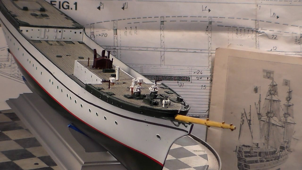 revell 1 150 gorch fock video 3 youtube. Black Bedroom Furniture Sets. Home Design Ideas