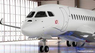 Avec son Falcon 10X, Dassault mise sur l'espace intérieur