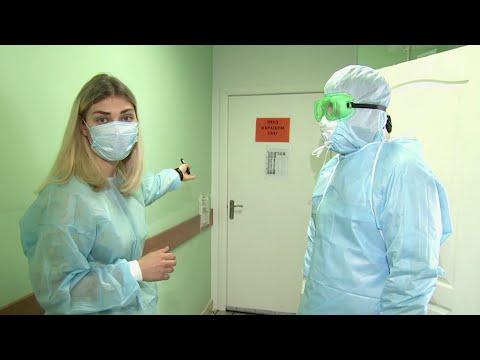 В Казани для помощи маленьким пациентам с COVID-19 перепрофилировали детскую больницу.