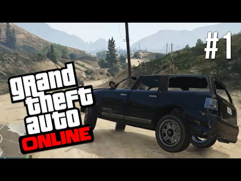 GTA 5 Online #1 - Delivery of Doom! (Grand Theft Auto Online