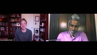 Patrick Radden Keefe + Anand Giridharadas: Empire of Pain: The Secret History of the Sackler Dynasty