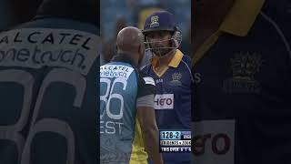 MALIK V TINO!!! Tempers rise on the cricket field. #Shorts