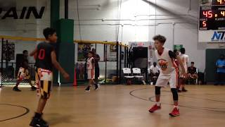 10/7/17 - Jr Terps vs Germantown Heat - Dancing Referee - Coach Fritz