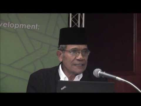 Dr Yusny Saby - Post-tsunami Community Building in Aceh- Ethical Issues Facing Local - pt.1