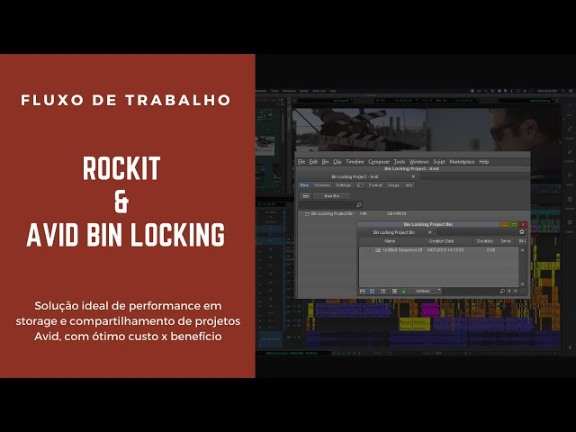 Rockit e Hyperloc : Avid bin locking