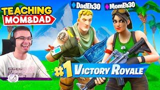 Playing Fortnite with my Mom and Dad!