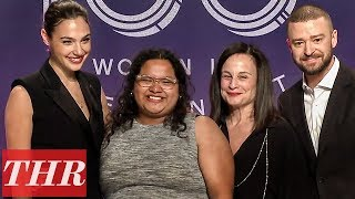 Gal Gadot Presents Wonder Woman Scholarship at The Hollywood Reporter