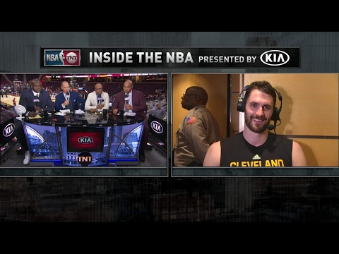Inside The NBA: Kevin Love Interview | NBA on TNT