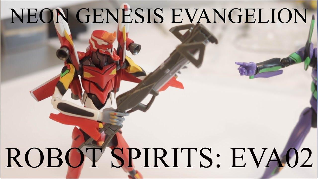 EPISÓDIO 16: Review The Robot Spirits (Damashii) Evangelion Unit O2 Bandai (PORTUGUESE)