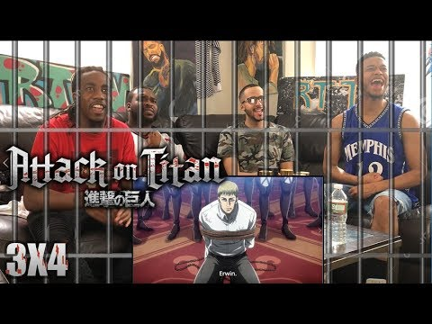 WHAT'S HE UP TO!? ATTACK ON TITAN 3X4 REACTION/REVIEW (SEASON 3 EP 4)