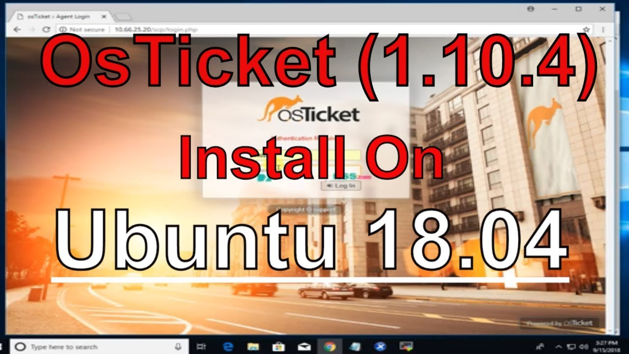 How To Install OsTicket (1 10 4) On Ubuntu 18 04 - TechnologyRSS