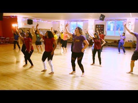 Vaanam Thilathilakkanu Choreography | CIA | Dulquer Salmaan | Gopi Sunder | Amal Neerad