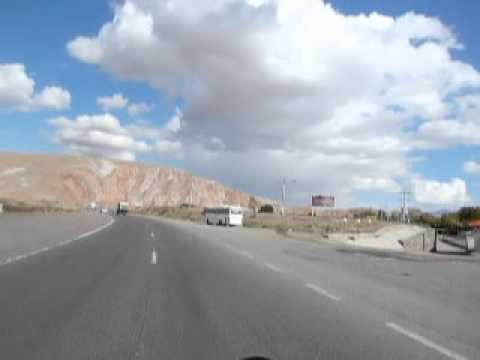 Road to Tabriz just before Sufiyan 19/10/2012