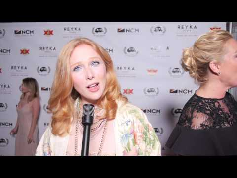 Molly Quinn Interview At Golden Trailer Awards