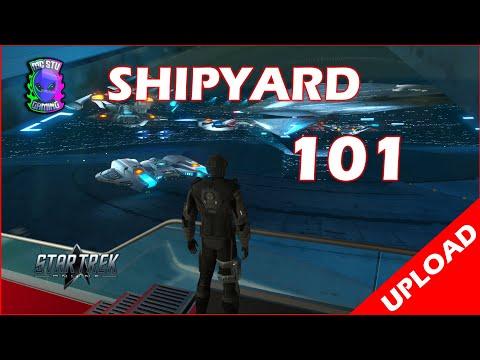 STO 101 Shipyard Ship Upgrade How To Beginners Guide - Star Trek Online