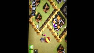 Clash of clans first star on war deadpool town hall 4