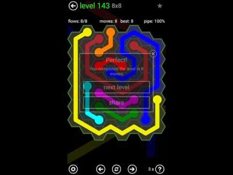25+ Flow Free Extreme Pack 2 11X11 Level 22 PNG