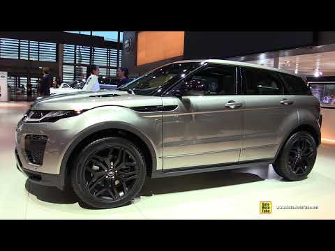 e0fe0fa71d7ac 2019 Range Rover Evoque HSE Dynamic Diesel - Exterior Interior Walkaround -  2018 Paris Motor Show