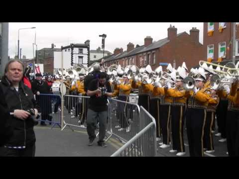 """Neck""-LSU Golden Band-Dublin Parade Warm Up"
