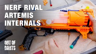 Rival Artemis: Internals and chronograph