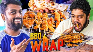 Dan JR's Fish & Prawn BBQ Wrap Cooking with VJ Nikki! Non Stop Laughter Ride!