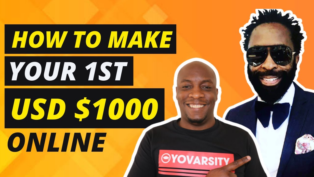 How To Make Your First $1000 Dollars Online | Interview with DJ SBU & Marshall Malaba