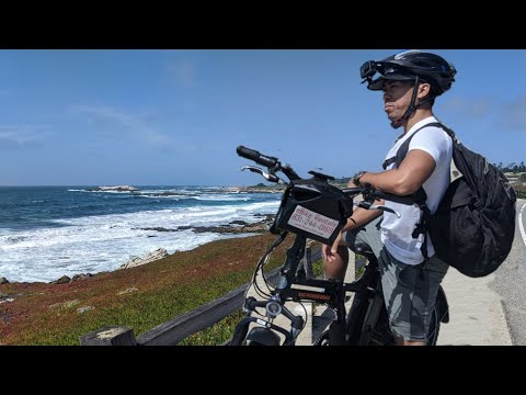 Big Sur California   Monterey To Carmel Beach   17 Mile Drive On Electric Bike