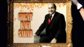 MOHD RAFI= DEKHI TERI DUNIYA DUNIYA WALE= RARE SONG FIRST TIME ON YOU TUBE