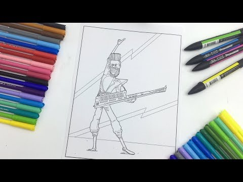 Balthazar Bratt Coloring Page! Despicable Me 3 | Minions Coloring Videos for Kids