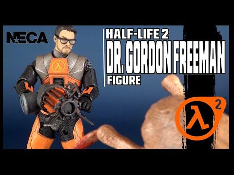 NECA Half-Life 2 Dr. Gordon Freeman | Video Review