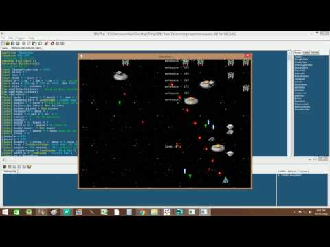 Old video game programing using blitz basics
