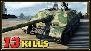 WZ-120-1G FT - 13 Kills - World of Tanks Gameplay