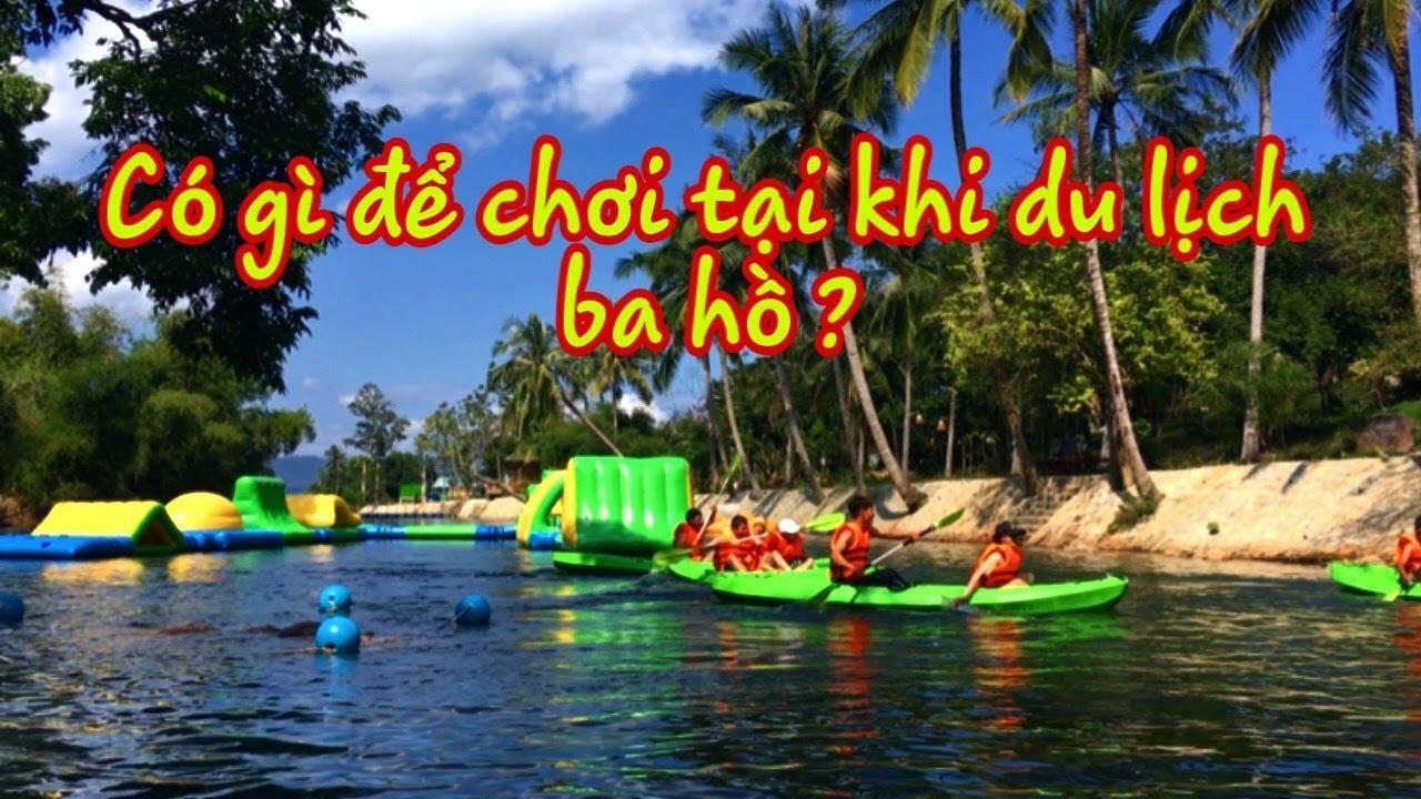 #1 Có Gì Để Chơi Tại Ba Hồ Ninh Hòa – Nha Trang  Đẹp 2019 | Go and share