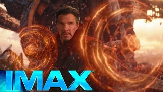 Thanos arrives at Titan fight Scene IMAX  | Avengers Infinity War Clip #1