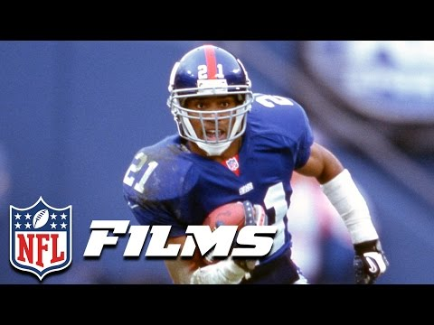 #3 Tiki Barber | NFL Films | Top 10 Players Not in the Hall of Fame