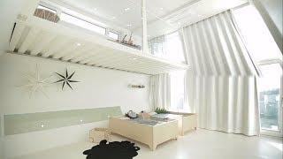'컨테이너'로 만든 특이한 복층 공간! @좋은아침 52…