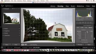 Lightroom 5 - Upright Straightening