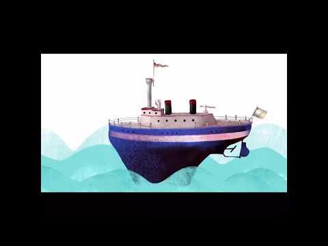 Studio Illustrator Freelancing Как нарисовать море. Мультфильм Вдохновение
